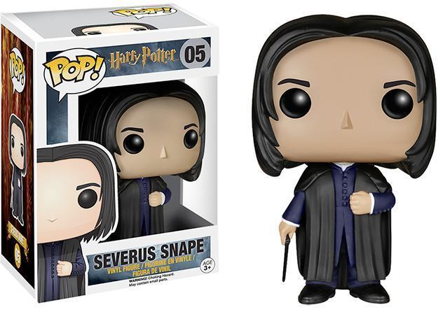 Boneco Funko Pop Harry Potter Snape