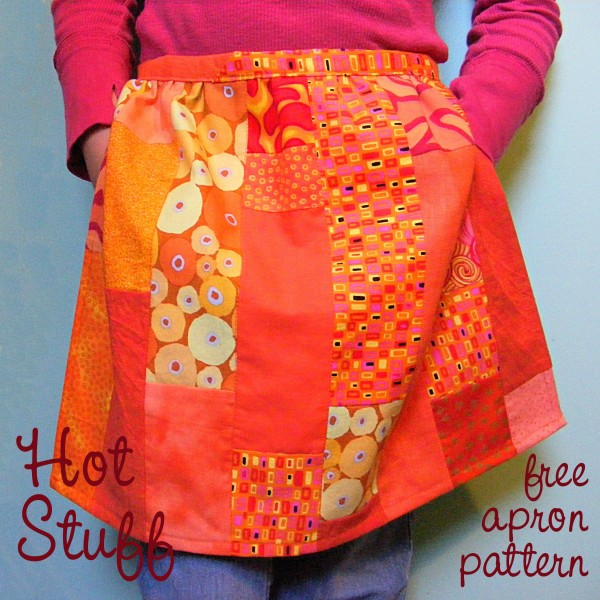Free Adjustable Apron Pattern