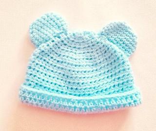 Tuto Bonnet au crochet pour bébé Facile et Gratuit