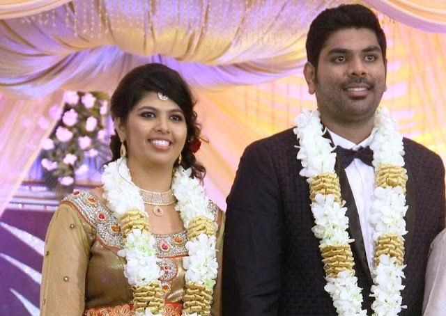 Tamil Actor Ajay Ratnam Son Wedding Stills