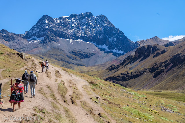 The journey to Vinicunca, the Rainbow Mountain of Peru