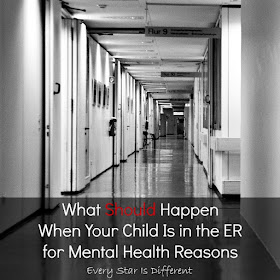 What Should Happen When Your Child is in the ER for Mental Health Reasons