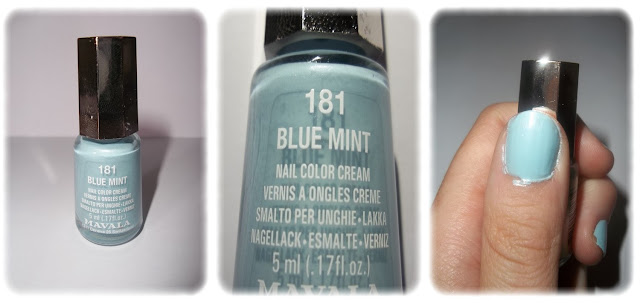 Swatch Vernis à Ongles Teinte 181 Blue Mint - Mavala