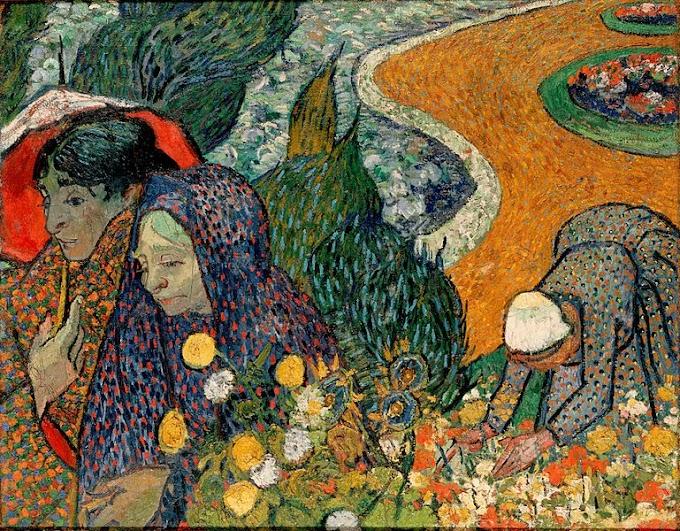 لوحة ذكرى لحديقة في إيتن نساء من آرل