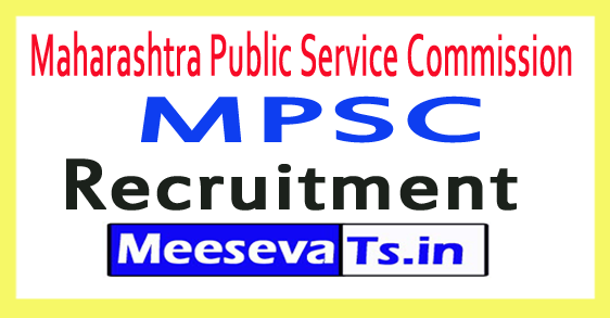 Maharashtra Public Service Commission MPSC Recruitment Notification