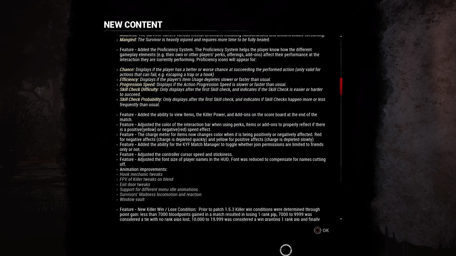 Dead by Daylight updates for Console - 23 Aug 2017 - Dr Jengo's World