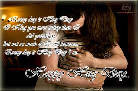 Free Hug Day Quotes for Boyfriend