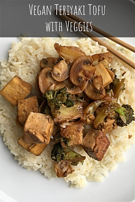 Vegan Teriyaki Tofu with Veggies
