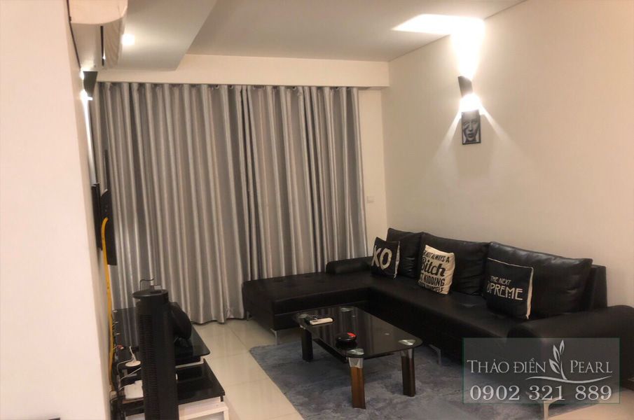 Cho thuê Thảo Điền Pearl 2PN tầng 8 full nội thất - hình 2