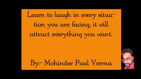 Making Self Success - Learn to Laugh