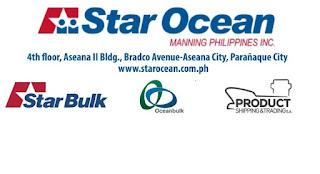 SEAMAN JOB INFO - Available Manning Philippines INC. Hiring crew for bulk carrier vessel, oil tanker vessel join November-December 2018.