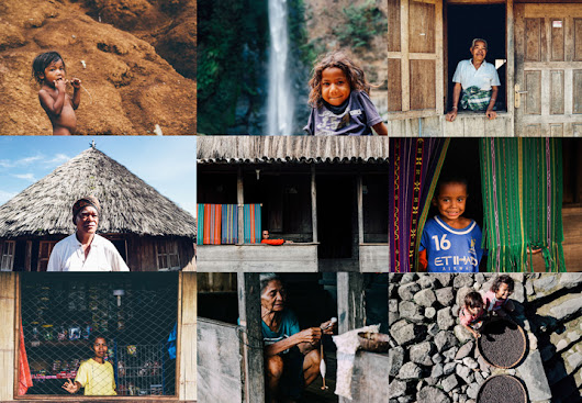 kadekarini - Indonesian Travel Blogger: Photo Story : Faces of Flores, NTT