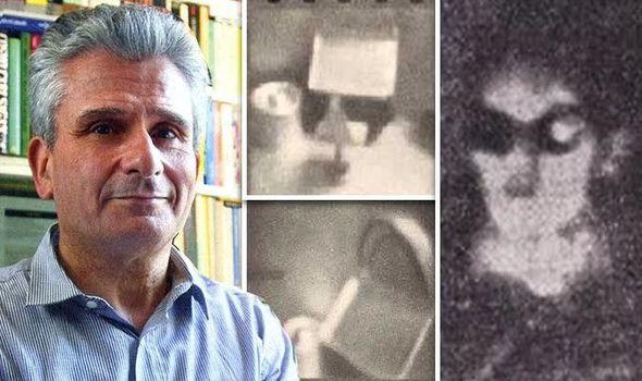 Italian journalist photographs an Alien inside UFO.