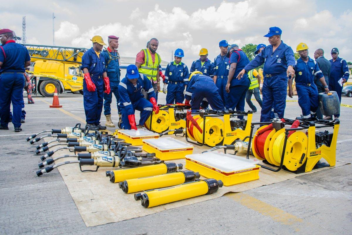 Lagos State Government Donates Power-Bikes, World Class Equipment to LRU Unit