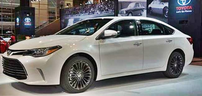 2017 Toyota Avalon Xle Specs Performance