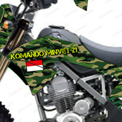 KLX 150 BF - Komando