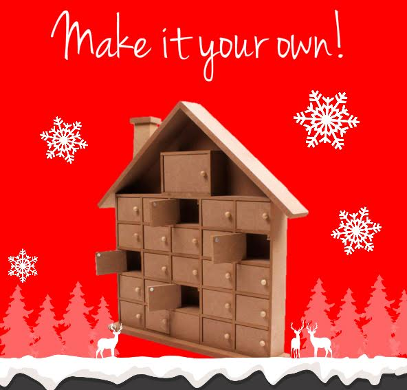 Make it your own DIY wooden advent calendar competition