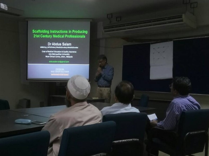Scaffolding Instructions in Producing 21st Century Medical Professionals, BIRDEM, Dhaka, Bangladesh, May 5th, 2018