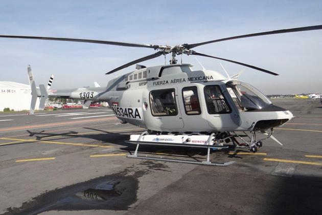Fuerza Aerea Mexicana Bell 407 GXP