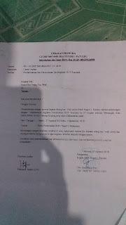Contoh Surat Ijin Orang Tua Untuk Perkemahan Pramuka
