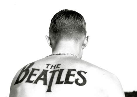 2f10df432 Beatles Tattoo Ideas - Beatles Tattoo Design Photo gallery