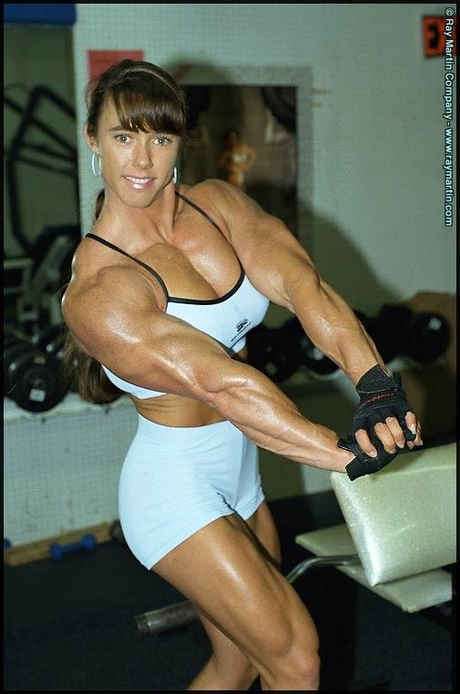 Huge female bodybuilder brigita brezovac hot female muscle 5