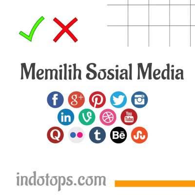 Memilih-sosial-media