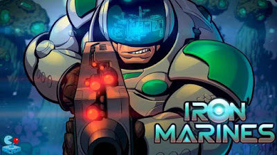 Iron Marines Apk + Mod (Unlimited Tech Point/Money / Unlocked Heroes) Data Download