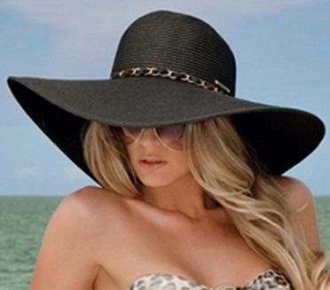 Resultado de imagen para sombreros de mujer playa