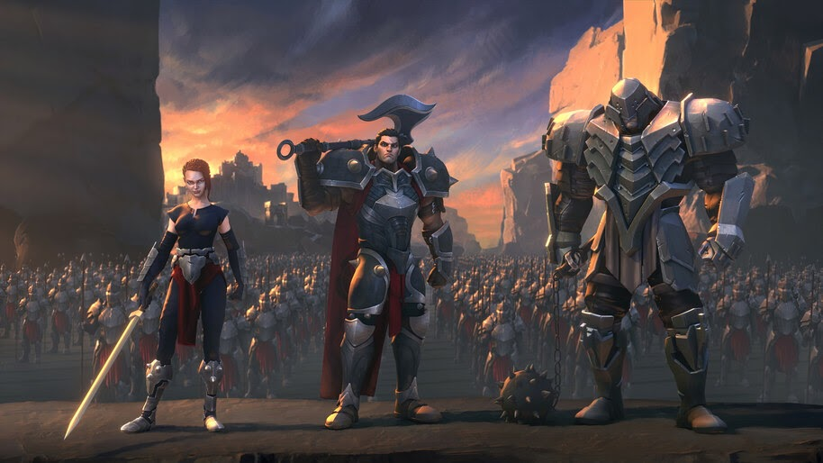 Darius, Noxus, Army, LoL, Legends of Runeterra, 4K, #3.1854