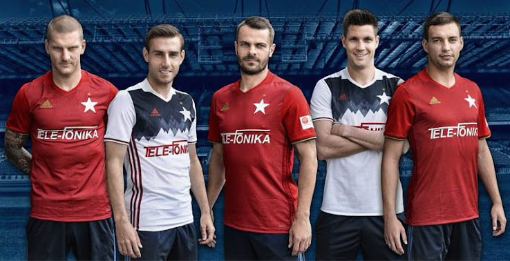 Wisla Krakow: Outstanding Wisła Kraków 16-17 Home And Away Kits Released