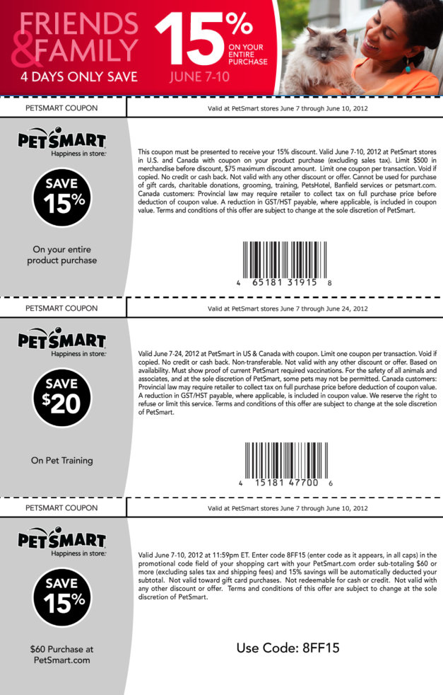 petsmart adoption coupons