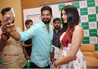 Bollywood Actress Adah Sharma Pos in White Printed Short Dress at OPPO F3 Plus Selfie Expert Mobile Launch .COM 0086.jpg