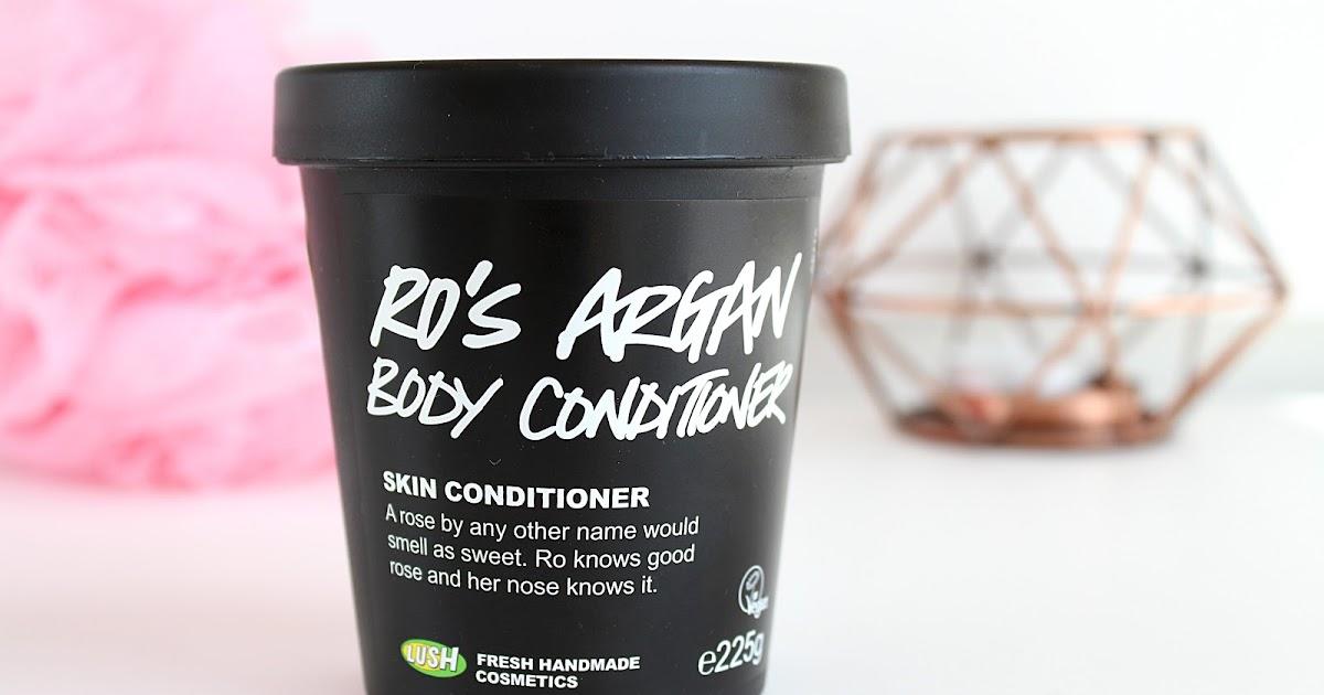 ro's argan body conditioner review