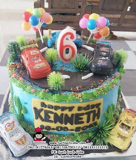 Kue Tart Ulang Tahun Tema Mobil