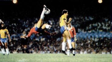 Brasil y Chile en partido amistoso, 28 de abril de 1983