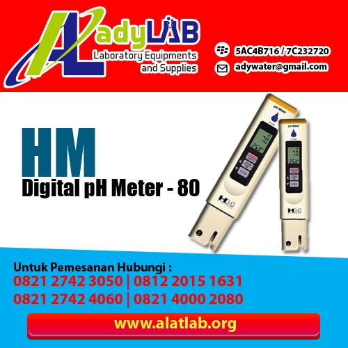 1. pH Meter type pH-80