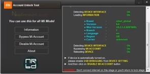 Mi Account Unlock/Bypass/Remove Tool