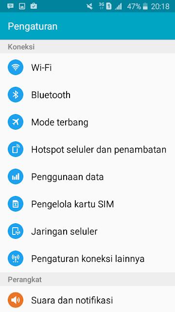 Menghemat Kuota internet pada Android