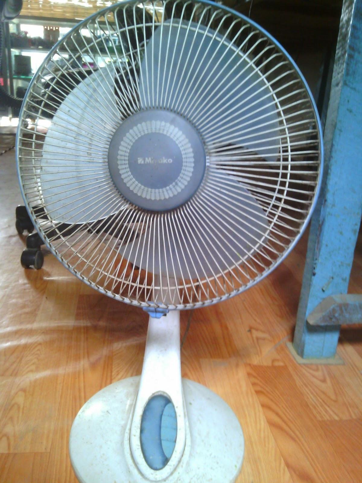 Service Elektronik Cara Memperbaiki Kipas Angin Meja Merek Miyako