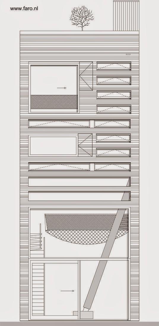 Arquitectura de casas casa urbana contempor nea blue for Cocina definicion arquitectura