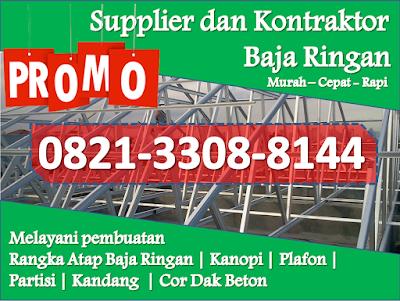harga baja ringan per meter terbaru telp wa 0821 3308 8144 rangka atap dan