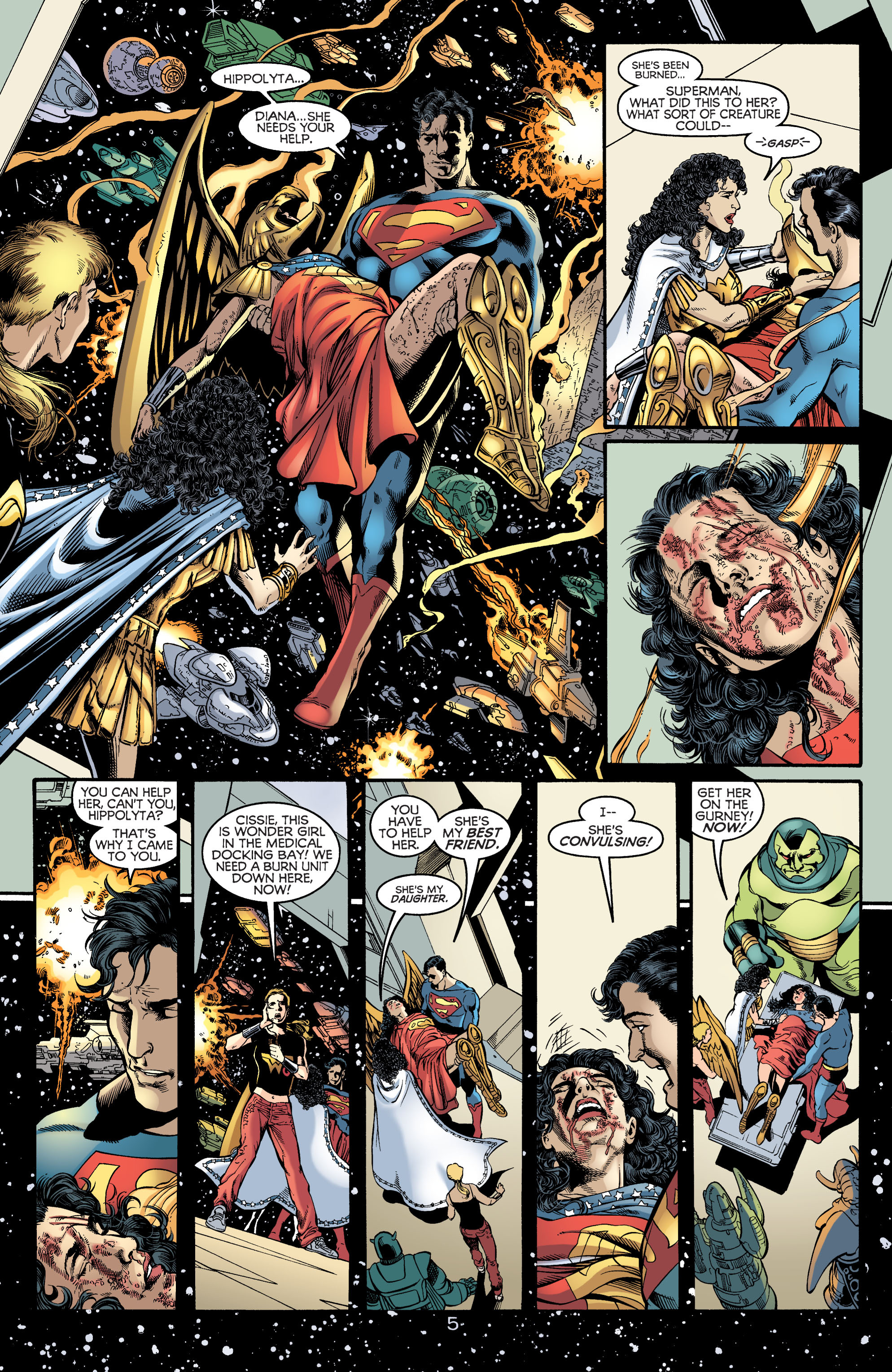 Read online Wonder Woman (1987) comic -  Issue #172 - 5