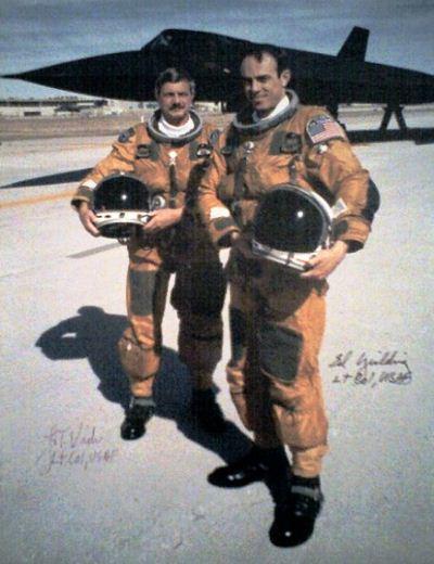 Pakaian pilot SR-71