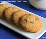 Foxtail Millet Cookies, Thinai Cookies