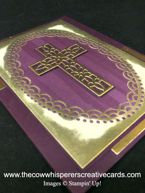Card, Hold on to Hope, Cross of Hope Dies, Delightfully Detailed Laser Cut Paper