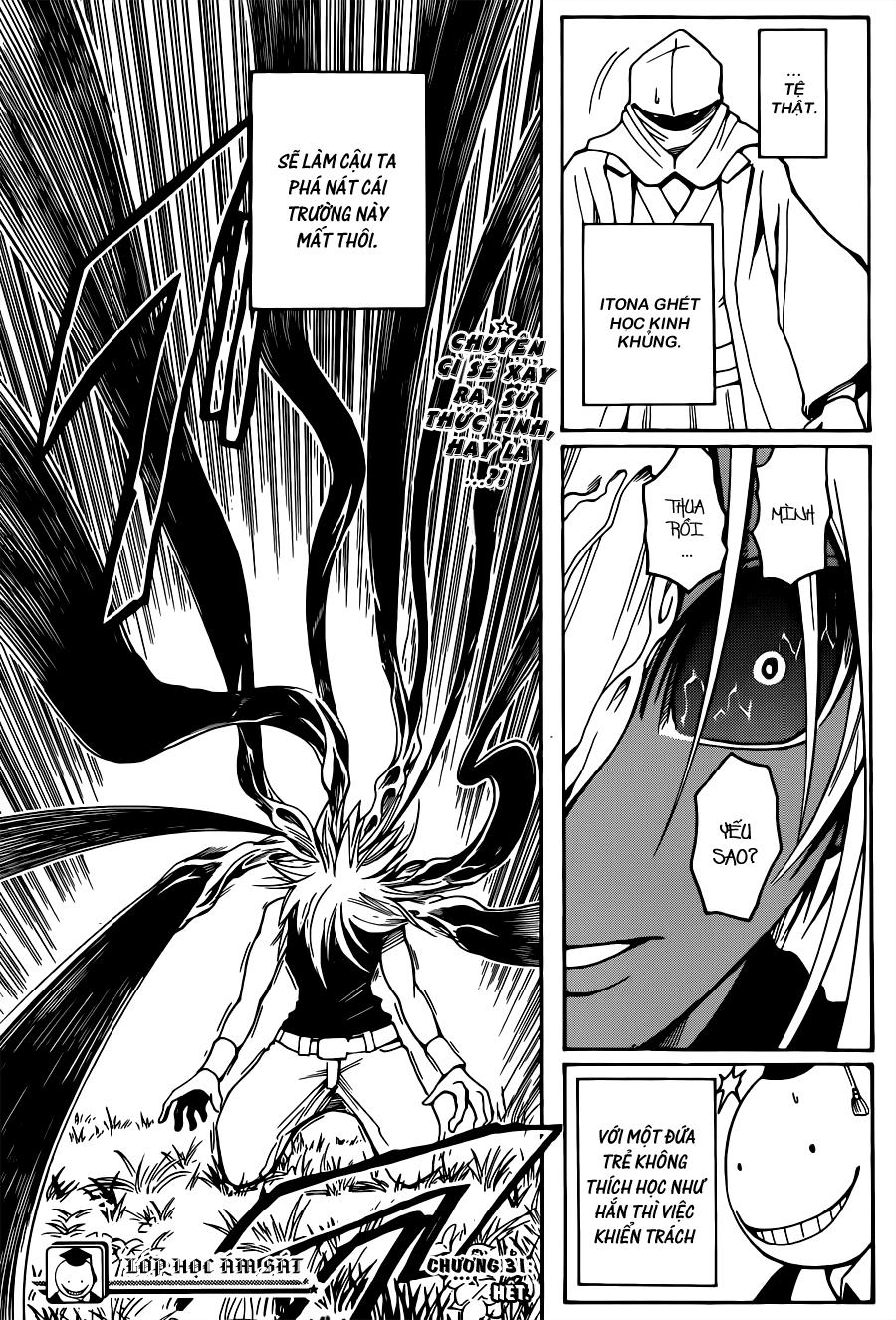Ansatsu Kyoushitsu chap 31 trang 20