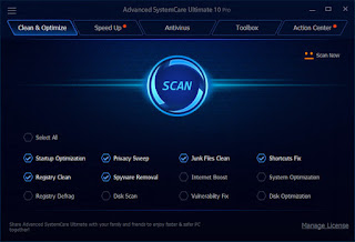 Advanced SystemCare Ultimate 11.0.1.58 Full Serial