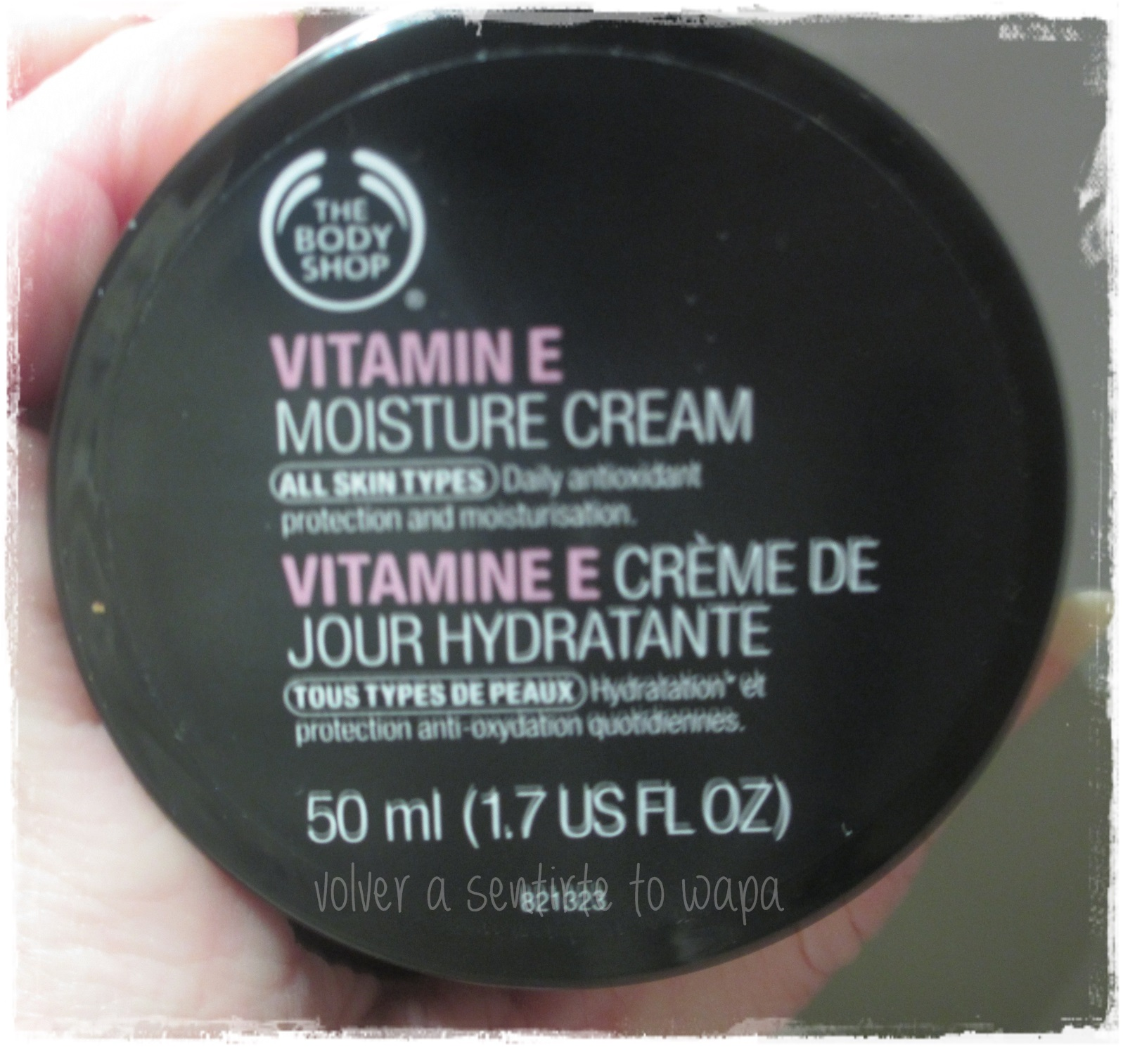 Crema Facial de Vitamina E de THE BODY SHOP