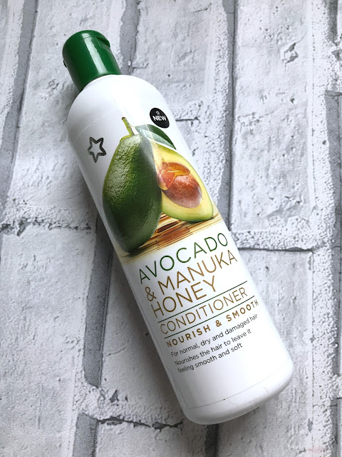 Superdrug Avocado & Manuka Honey Haircare